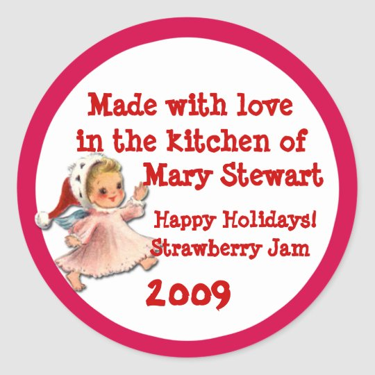Cute Canning Labels for Holiday Gift Giving
