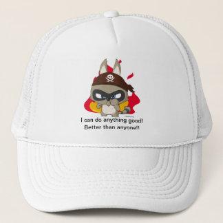 Cute cap funny raccoon cartoon anime character hat