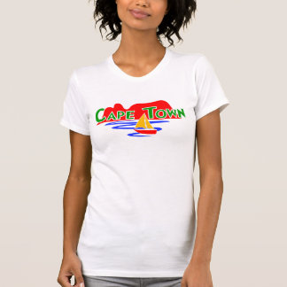 Cute Cape Town Ladies Customizable T-Shirt