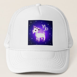 Cute Capricorn Zodiac Trucker Hat