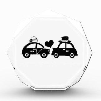 Cute car couple acrylic award