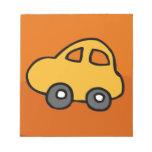 Cute CAR Memo Pads
