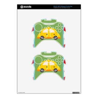 Cute Car Transportation Theme Baby Kids Gifts Xbox 360 Controller Skin