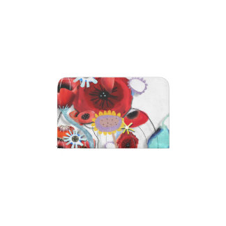 cute card holder poppies