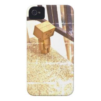 Cute cardboard iPhone 4 Case-Mate case