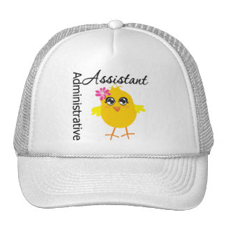 Cute Career Chick Administrative Assistant Trucker Hat