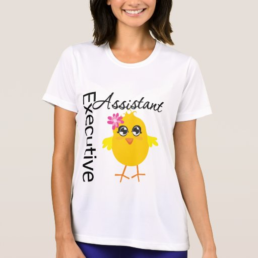Cute Career Chick Executive Assistant Tshirts