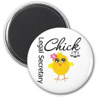 Cute Career Chick - Legal Secretary Fridge Magnets