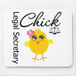 Cute Career Chick - Legal Secretary Mousepad