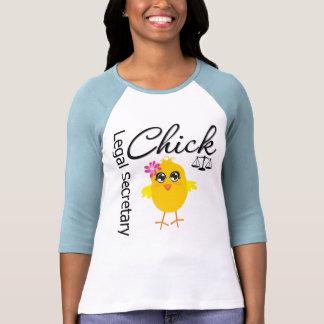 Cute Career Chick - Legal Secretary Tees