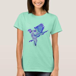 cute caribbean vacation bird picture tshirt design