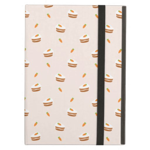 Cute Carrot Cake Pattern Case For iPad Air