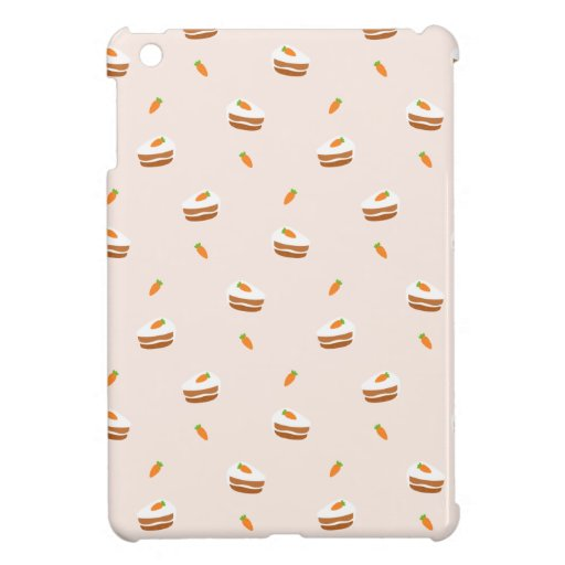 Cute Carrot Cake Pattern Case For The iPad Mini