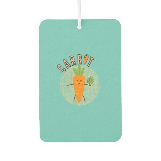 Cute Carrot Case-Mate iPhone Case Air Freshener