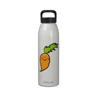 cute carrot drinking bottle