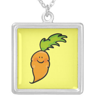Cute carrot custom necklace