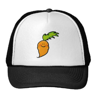 Cute carrot trucker hat