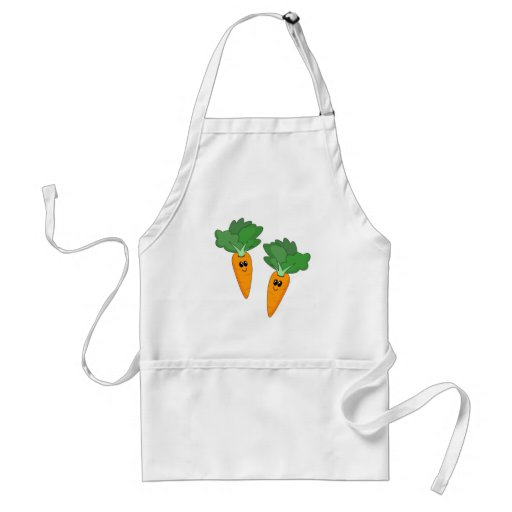Cute Carrots Apron