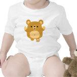 Cute Cartoon Affectionate Bear Baby Apparel T Shirt