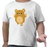 Cute Cartoon Affectionate Bear  Children T-shirt