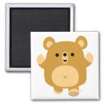 Cute Cartoon Affectionate Bear magnet