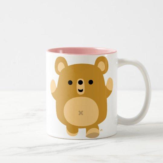 Cute Cartoon Affectionate Bear Mug