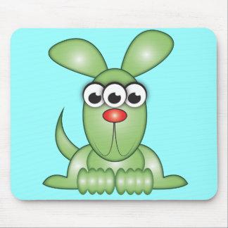 Cute Cartoon Alien Dog Mouse Pad