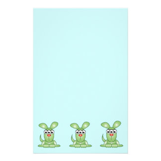 Cute Cartoon Alien Dog Customized Stationery