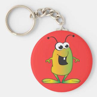 Cute Cartoon Alien invasion Keychain