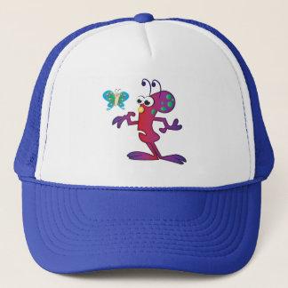 Cute Cartoon Alien Invasion Trucker Hat
