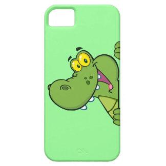 Cute Cartoon Alligator iPhone 5 Cases