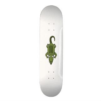 Cute Cartoon Alligator Skateboard