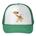 Cute Cartoon Ambling Giraffe Hat