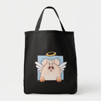 Cute Cartoon Angel Pig Bag