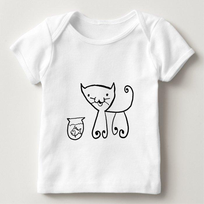 cute  cartoon animal baby T-Shirt