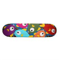Cute Cartoon Animal Skateboards: Fishes Skateboard