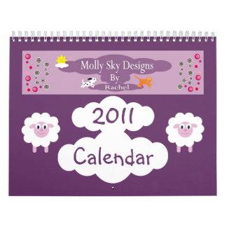 Cute Cartoon Animals & Children Illustrations Calendar