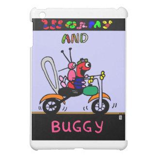 Cute cartoon animals on motorcycle I-Pad case iPad Mini Case