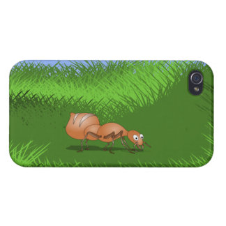 Cute Cartoon Ant iPhone 4/4S Cover