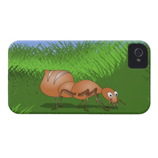 Cute Cartoon Ant iPhone 4 Case