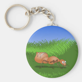 Cute Cartoon Ant Keychain