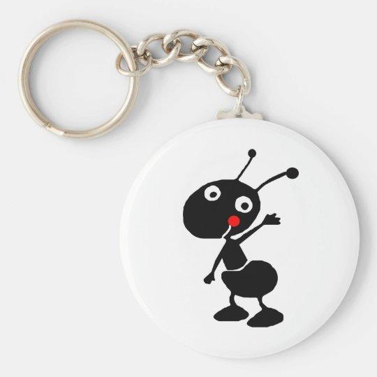 cute cartoon ant keychain