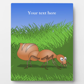 Cute Cartoon Ant Plaque