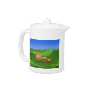 Cute Cartoon Ant Teapot