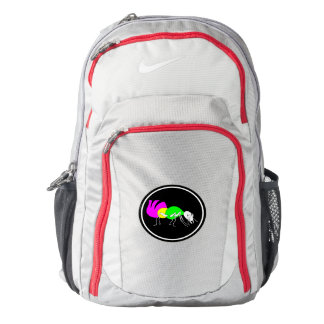 Cute Cartoon Ant With Bright Coloured Abdomen Backpack