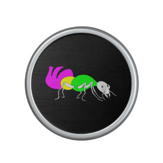 Cute Cartoon Ant With Bright Coloured Abdomen Bluetooth Speaker