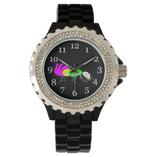 Cute Cartoon Ant With Bright Coloured Abdomen Wrist Watch