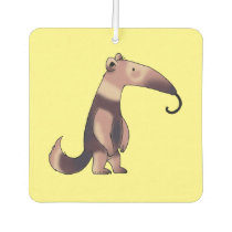 cute cartoon anteater car air freshener
