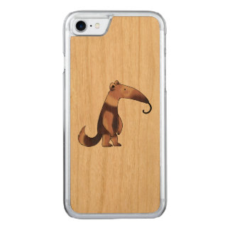cute cartoon anteater carved iPhone 8/7 case
