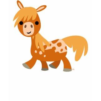 Cute Cartoon Appaloosa Pony children T-shirt shirt